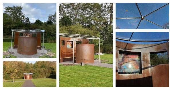 Bouw dak Stiltemonument Roosendaal - Verkleind voor website Vlinderijnes - kopie