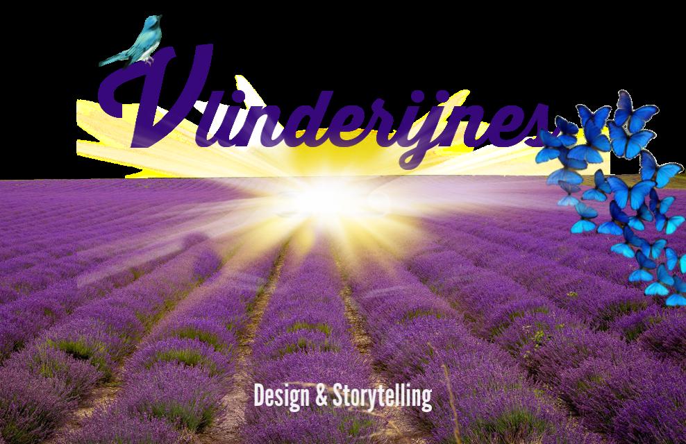 Nieuw logo Vlinderijnes Design&Storytelling mei 2019.