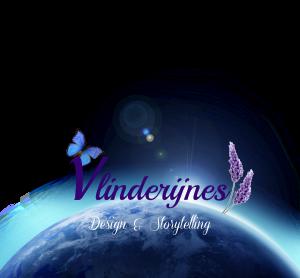 Logo Vlinderijnes - met aardbol